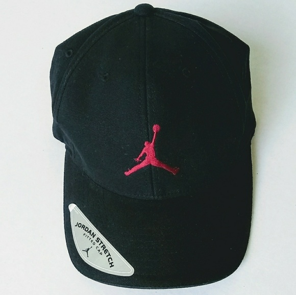 290b6120b Air Jordan black flex fit hat NWT